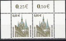 2004  Deutschland Allem. Fed. Germany  Mi. 2381**MNH Sehenswürdigkeiten Erfurter Dom - [7] République Fédérale