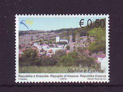 Kosovo 2016 Y Town Cities Stublla E Eperme MNH - Kosovo