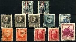 España Nº 598, 655, 667, 660/1, 669, 674. Año 1931-2 - 1931-50 Usados