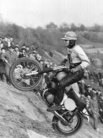 Photo De Presse Sports Moto - Petr Dobry Motocross Annuel De Prague 1966 - Moto