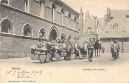 MONS (Hainaut) Personnel Du Doudou - Ed. Nels Serie 6 N. 36 - Mons