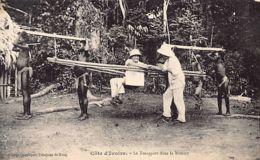 Côte D'Ivoire - Le Transport Dans La Brousse - Ed. Cie De Kong. - Côte-d'Ivoire