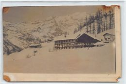 GRESSONAY - LA TRINITÉ (Valle D'Aosta) Cartolina Foto - Anno 1914 - Otras Ciudades