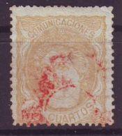 Espagne Y&T 113 - 1870-72 Régence
