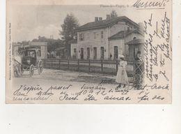CPA  THAONS LES VOSGES   LA GARE - Thaon Les Vosges