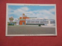 Burroughs Drive In Restaurant  Virginia > Norfolk         Ref 4176 - Norfolk