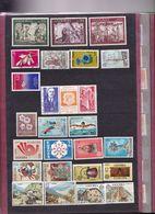 ANDORRE FRANCAIS ET ESPAGNOL BEAU LOT OBL * Et MAJORITE EN ** FORTE COTE - Unused Stamps