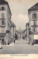 La Chaux De Fonds (NE) Rue Champêtre - NE Neuchâtel