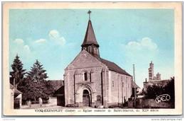 36 VICQ EXEMPLET - église Romane - France