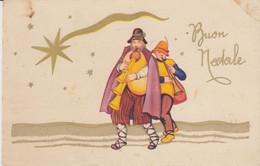 Buon Natale 1939 - Pastori Con Cornamuse - Viaggiata - Non Classés