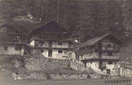 Gressoney (AO) - Cartolina Foto - Anno 1922 - Fotografia Artistica - Otras Ciudades