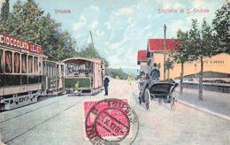 TRIESTE (TS) Stazione Di S. Andrea - Trieste (Triest)