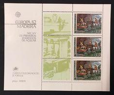 Portogallo Madeira 1982  Europa Cept 1982 Foglietti Set - Emissions Locales