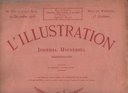 L'ILLUSTRATION  29 12 1906 - SUFFRAGETTES - MAROC - PERSE - OPERA GARNIER - JOUR DE L'AN CHINOIS CANTON - OUZOUS - L'Illustration