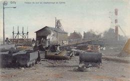 Gilly (Hainaut) Travaux Du Jour Au Charbonnage Du Centre - Belgium