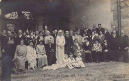 COLMAR BERG - Mariage D'Hilda De Luxembourg Et Adolph Schwarzenberg Le 23 Octobre 1930 - CARTE PHOTO - Ed. A. Anin. - Colmar – Berg