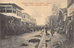 Macedonia - SKOPJE Uskub - Arrival Of The Serbian Army During The First Balkan War - Publ. Pajkovic. - Macedonia
