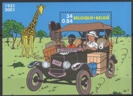 2001. BL93 **, MNH. Cote COB 2020 :  3 € - Blokken 1962-....