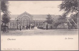CPA Charleroi - La Gare - La Station - Nels Serie 5 N° 12 - Charleroi