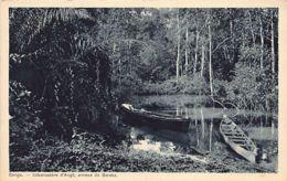 GABON - Débarcadère D'Angil, Annexe De Baraka - Ed. Commission Suisse De La Mission De Paris 64 - Belgisch-Congo - Varia