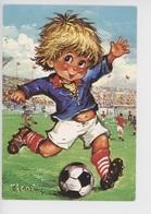 Michel Thomas (illustrateurs)  Gamins : Footballeurs Football (C/1040) - Thomas