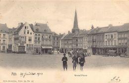 ATH (Hainaut) Grand'Place - Ed. Nels Série 76 N. 37 - Ath