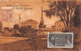 Brasil - PORTO ALGRE - Estatua De Julio Castilhos - Ed. Livraria Gutenberg 6739 O 2649. - Porto Alegre