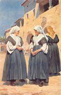 Croatia - Istrien - Alte Frauen Aus Borst (bei Triest) - Kroatien