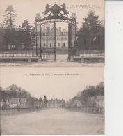 91 DRAVEIL  -  PARIS-JARDIN  -  LOT DE 4 CARTES  - - Draveil