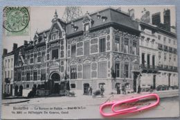 BRUXELLES : Rue De La LOI - Le Bureau De Police En 1906 - Avenues, Boulevards
