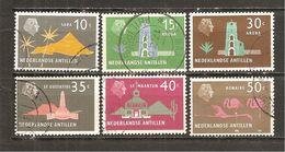 Antillas Holandesas  Yvert  265, 266, 269-71 (usado) (o) - Niederländische Antillen, Curaçao, Aruba