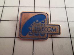115d Pin's Pins / Rare & Belle Qualité !!! THEME FRANCE TELECOM / LOGO ANNEES 90 ET TELEPHONE - France Telecom