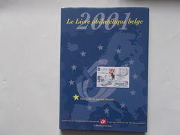 BELGIQUE - LE LIVRE PHILATELIQUE BELGE   2001  - Sans Les Timbres Vide - België