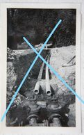 Photo WALZIN Région Furfooz Falmignoul 1935 Travaux D'adduction De La Source Vers Le Château - Places