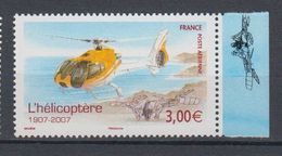 FRANCE-P.A.N°70a** HELICOPTERE - 1960-.... Mint/hinged