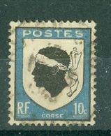 FRANCE - N° 755 Oblitéré - Armoiries De Provinces (III). Corse. - 1941-66 Escudos Y Blasones