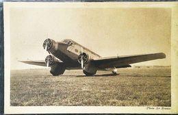 WIBAULT GNOME & RHONE K7 - Cpa 1930s  (Photo AIR FRANCE Paris - Londres ) -   Aviation (Avion Aircraft Flugzeug) - 1919-1938: Between Wars