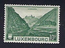 Luxembourg   -  Timbres-Briefmarken   1935 Vianden *  KW 8,- - Blocks & Sheetlets & Panes