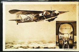POTEZ-62  - Cpa 1930s  (  AIR FRANCE  Paris Bordeaux  ) -   Aviation (Avion Aircraft Flugzeug) - 1919-1938: Between Wars