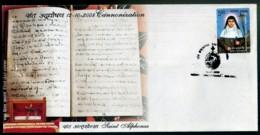 RELIGION- CHRISTIANITY- SAINTHOOD- St ALPHONSA- FDC-INDIA-2008-IC-287 - FDC