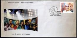 FAMOUS PEOPLE-ART-CINEMA- LV PRASAD - FDC-INDIA-2006-IC-287 - FDC