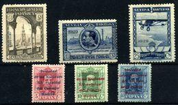 España Nº 441/2, 450, 457/8, 463. Año 1929 - Nuevos