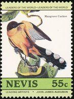 Nevis. 1985    Coulicou Manioc    Mangrove Cuckoo - Cuckoos & Turacos