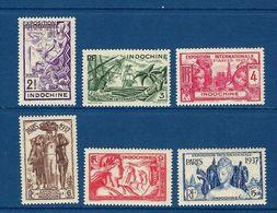 "Indochine YT 193 à 198 "" Exposition Internationale Paris "" 1938 Neuf** - Indochina (1889-1945)"