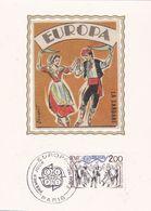 LOT De 10 Cartes - FDC 1er Jour Carte Maximum De 1981 . - Cartes-Maximum