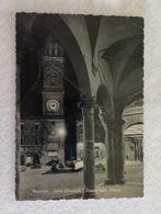 Cartolina Illustrata Macerata - Torre Comunale - Piazza Della Libertà, Per Faenza 1957 - Macerata