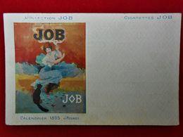 CPA Publicité Cigarettes JOB/ Calendrier 1895 - G.Meunier - Werbepostkarten