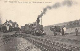 Mouchard: Le Train 509: Dôle-La Suisse, Le 7 Mars 1906. - Autres Communes