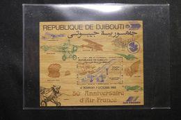 DJIBOUTI - Bloc Feuillet En Bois En 1983 - Aviation  - Concorde - L 63788 - Djibouti (1977-...)