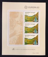 Portogallo Madeira 1983  Europa Cept 1983 Foglietti Set - Emissions Locales